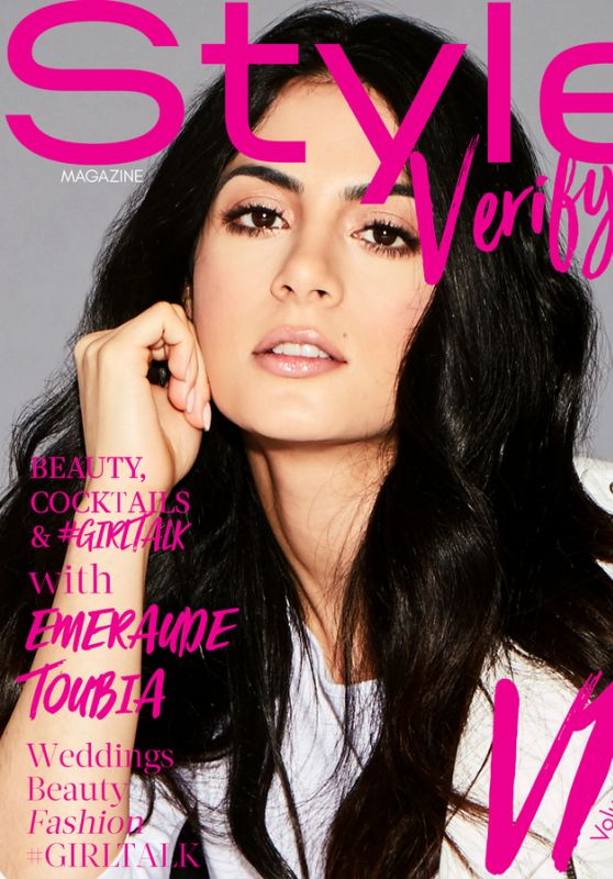 Emeraude Toubia - Style Verity Magazine January 2018 Cover
