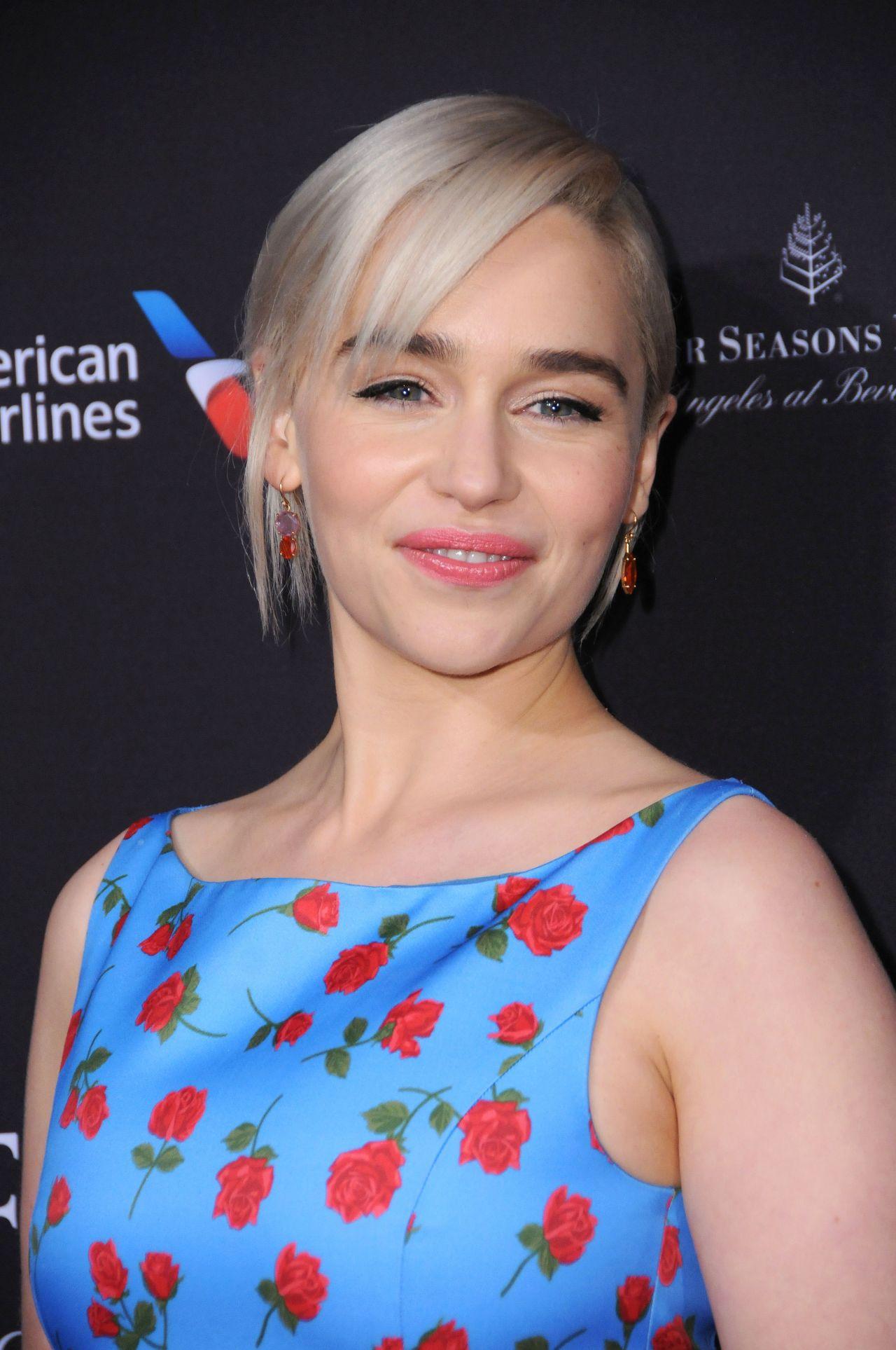 Emilia Clark 2018 Bafta Tea Party In Beverly Hills