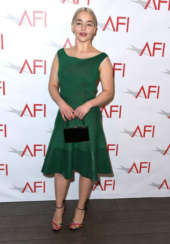 Emilia Clarke – AFI Awards 2018 in Los Angeles