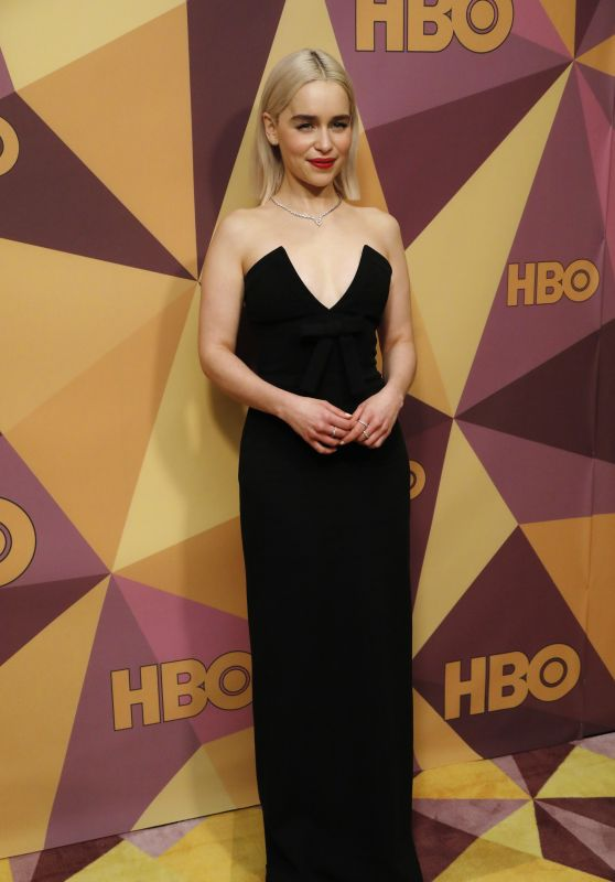 Emilia Clarke – HBO's Official Golden Globe Awards 2018 After Party