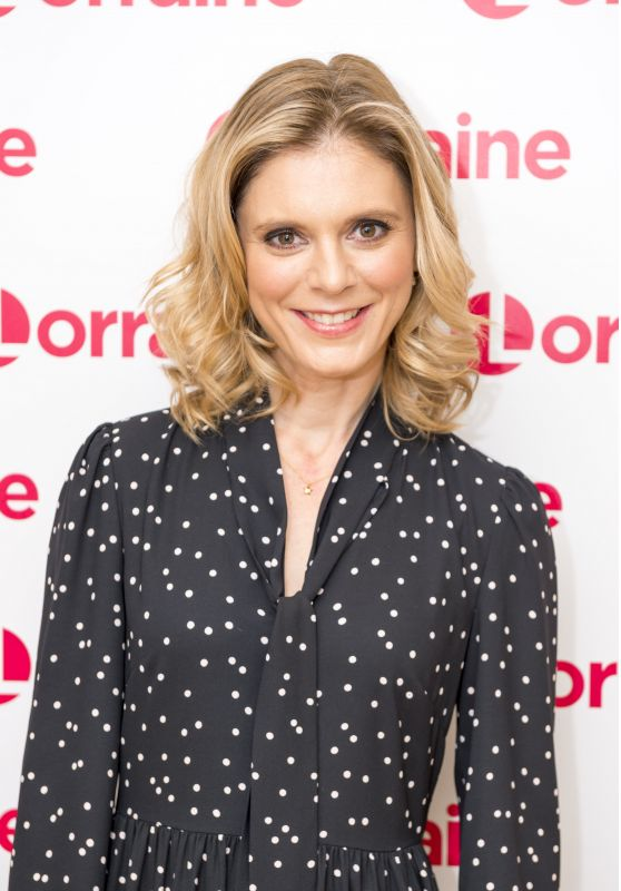 Emilia Fox - Lorraine TV Show in London