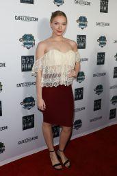 """Emilia McCarth – """"Cafe Con Leche"""" Premiere in Los Angeles"""