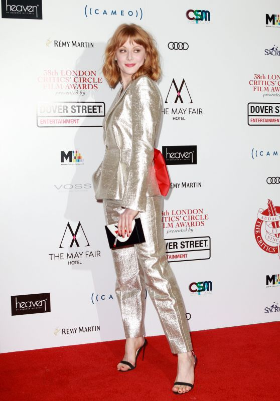 Emily Beecham – 2018 Critics Circle Film Awards in London