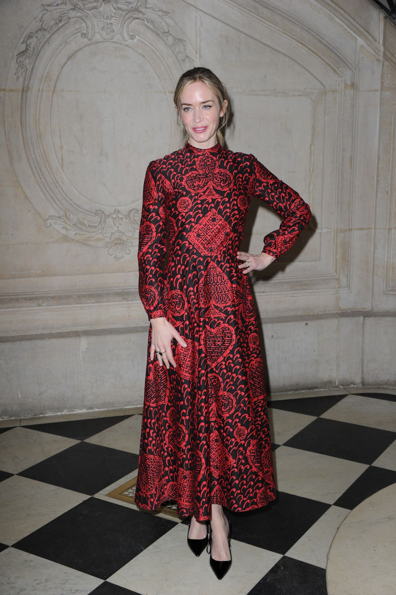 Emily blunt christian dior haute couture spring summer for Haute couture list
