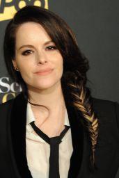 "Emily Hampshire – ""Schitt's Creek"" Season 4 Premiere in Hollywood"