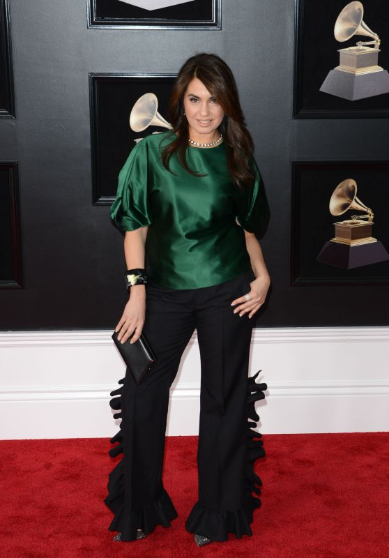 Emily Lazar – 2018 Grammy Awards in New York