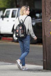 Emma Roberts Street Style - Shopping on Melrose Avenue in LA