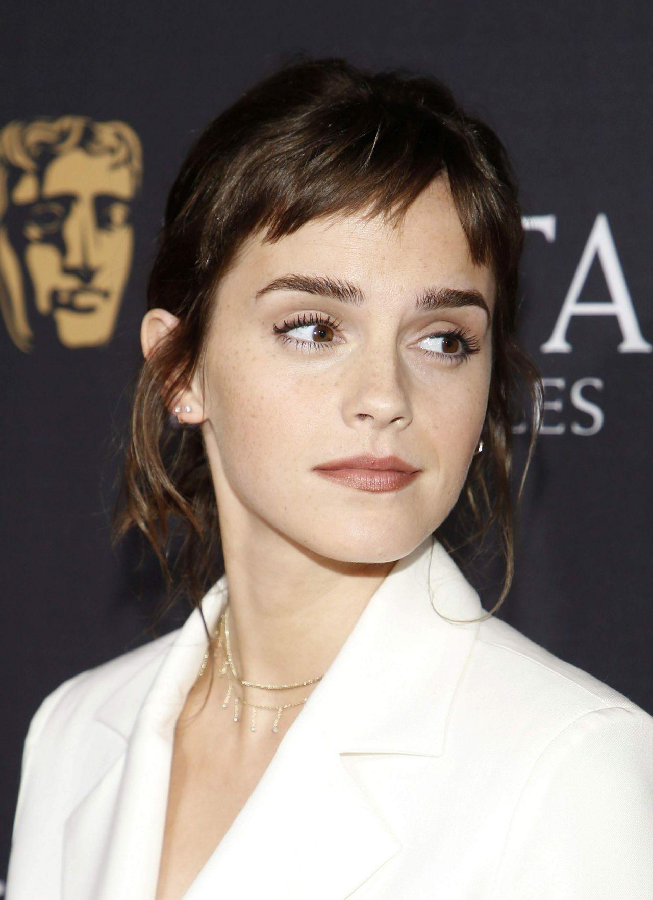 Emma Watson 2018 Bafta Tea Party In Beverly Hills