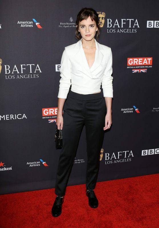 Emma Watson – 2018 BAFTA Tea Party in Beverly Hills