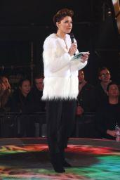 Emma Willis - Celebrity Big Brother Eviction in Borehamwood 01/26/2018