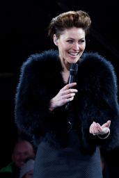 Emma Willis - Celebrity Big Brother Eviction in London