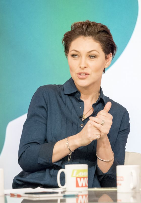 Emma Willis - Loose Women TV Show in London