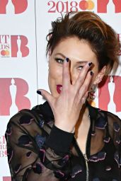 Emma Willis – The BRIT Awards Nominations Launch Party in London