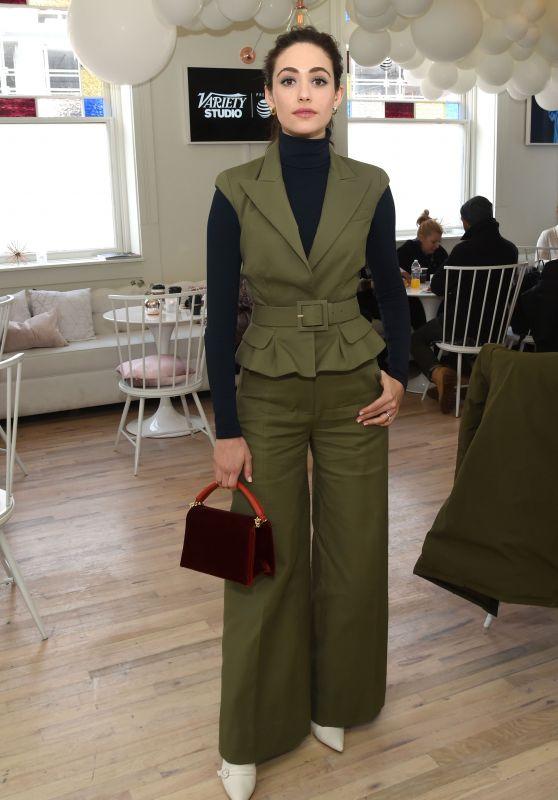 Emmy Rossum - Variety Studio at Sundance 2018 in Park City