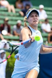 Eugenie Bouchard - Kooyong Classic Tennis Tournament in Melbourne
