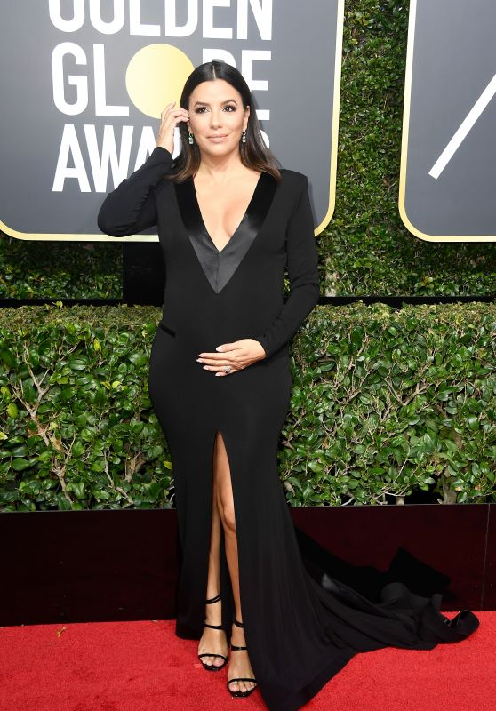 Eva Longoria – Golden Globe Awards 2018 in Beverly Hills