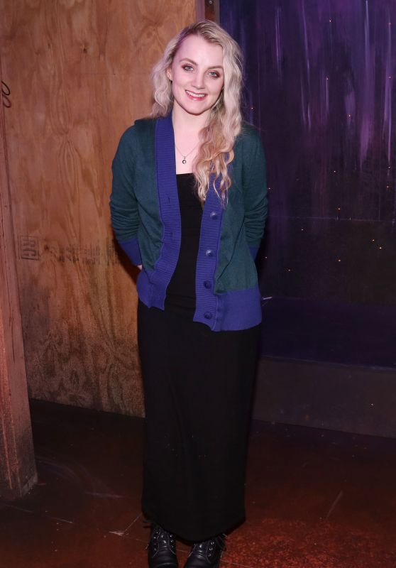 Evanna Lynch - Off-Broadway Comedy Puffs Backstage, New York 01/16/2018
