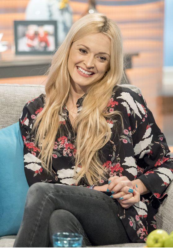 Fearne Cotton Appeared on Lorraine TV Show in London