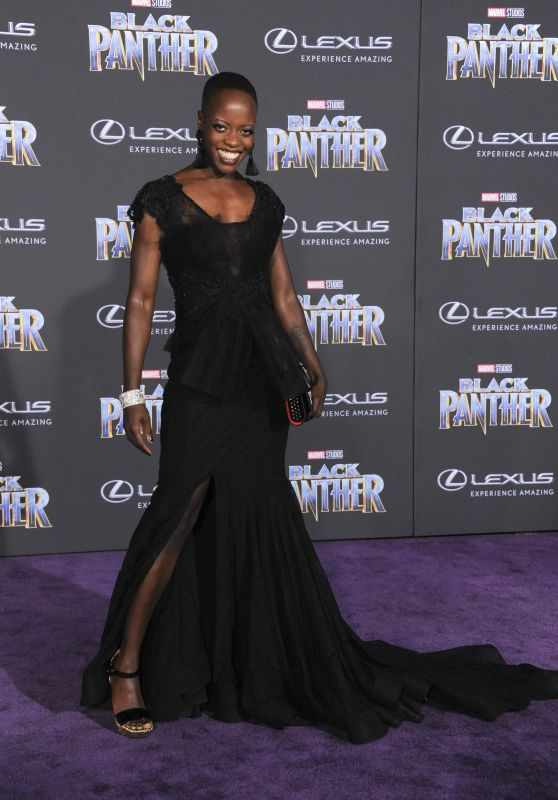 "Florence Kasumba – ""Black Panther"" Premiere in Hollywood"