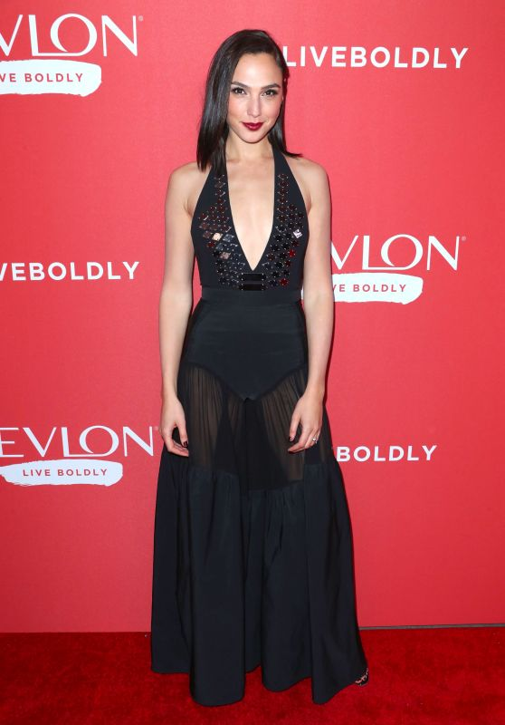 "Gal Gadot – Revlon's ""Live Boldly"" Campaign Launch in NYC"