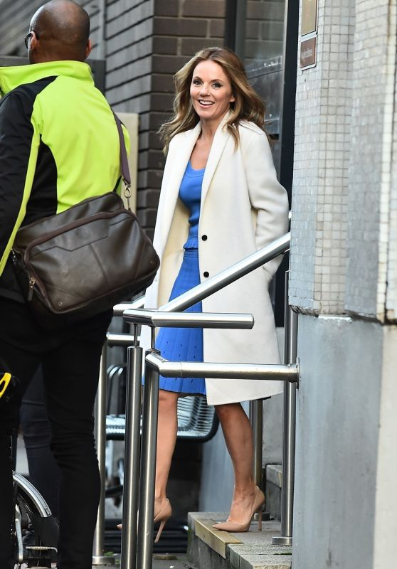 Geri Horner at the ITV Studios in London 01/25/2018
