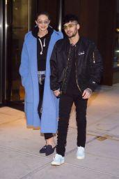 Gigi Hadid and Zayn Malik - Out in New York City 01/29/2018