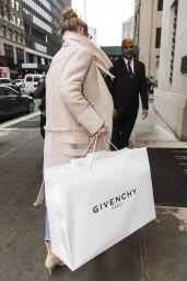 Gigi Hadid Street Fashion - Shopping at Givenchy in NYC