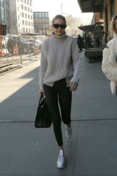 Gigi Hadid Street Style - Heading to Lunch in Ne York