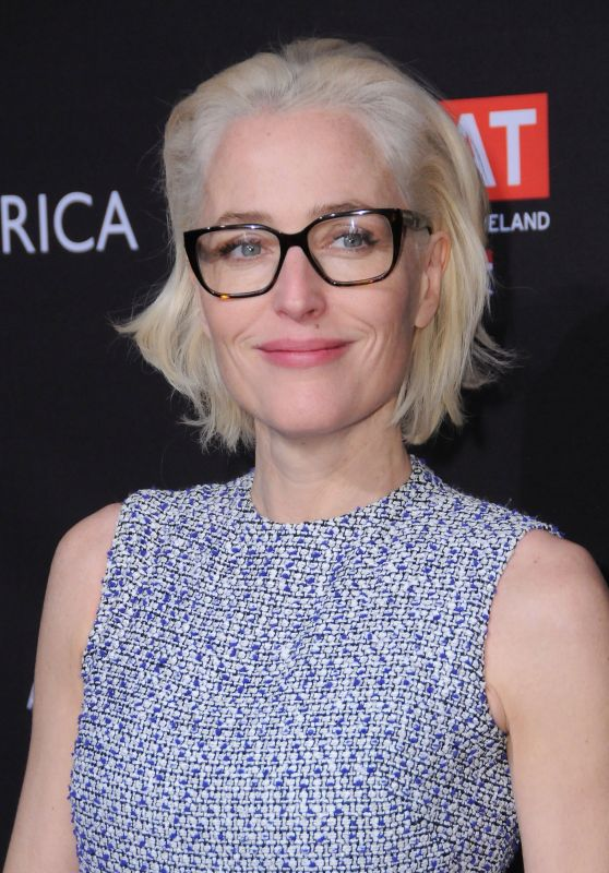 Gillian Anderson – 2018 BAFTA Tea Party in Beverly Hills