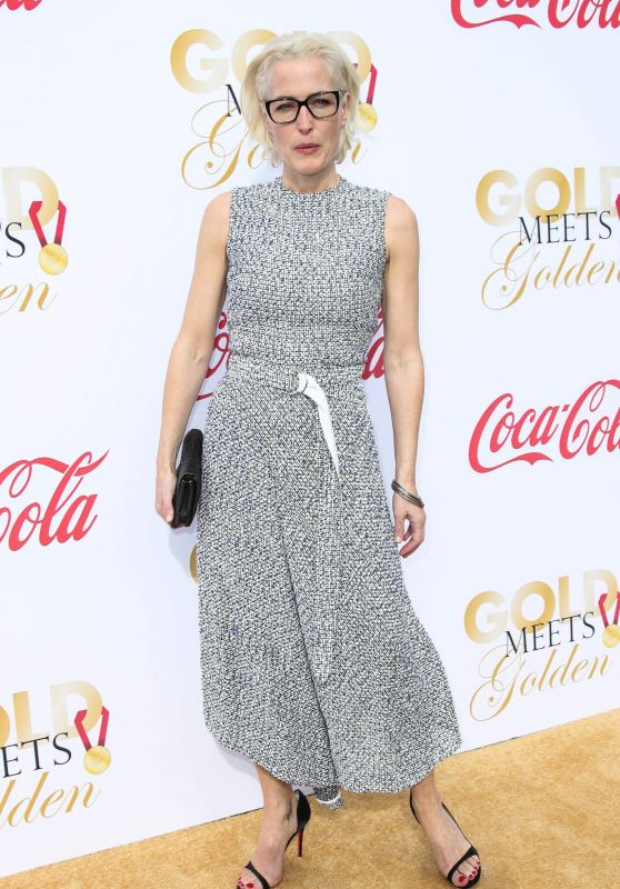 Gillian Anderson – Gold Meets Golden Awards in Los Angeles