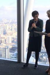 Gillian Anderson - Receiving City Literary Institute Lifetime Fellowship Award in London