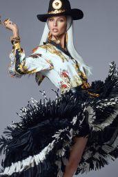 Gisele Bundchen, Kaia Gerber and Naomi Campbell - Versace Campaign 2018