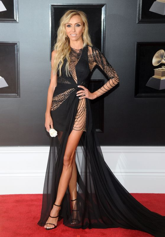Giuliana Rancic – 2018 Grammy Awards in New York