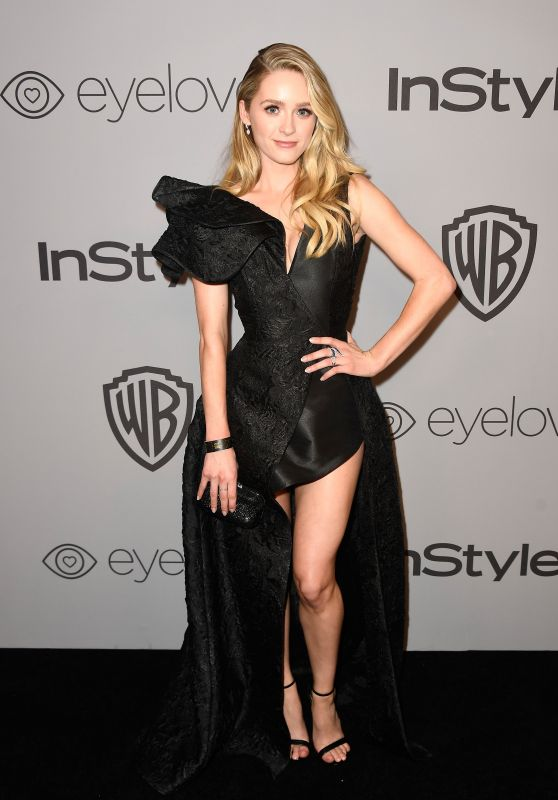 Greer Grammer – InStyle and Warner Bros Golden Globes 2018 After Party