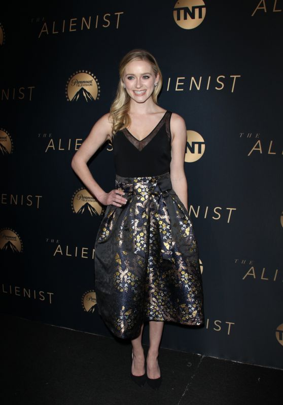 "Greer Grammer – ""The Alienist"" Premiere in Hollywood"