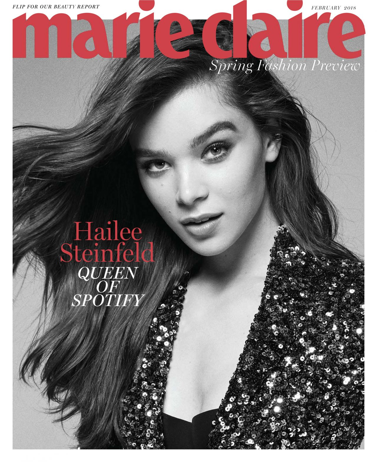 Hailee Steinfeld in Marie Claire Magazine - February 2018