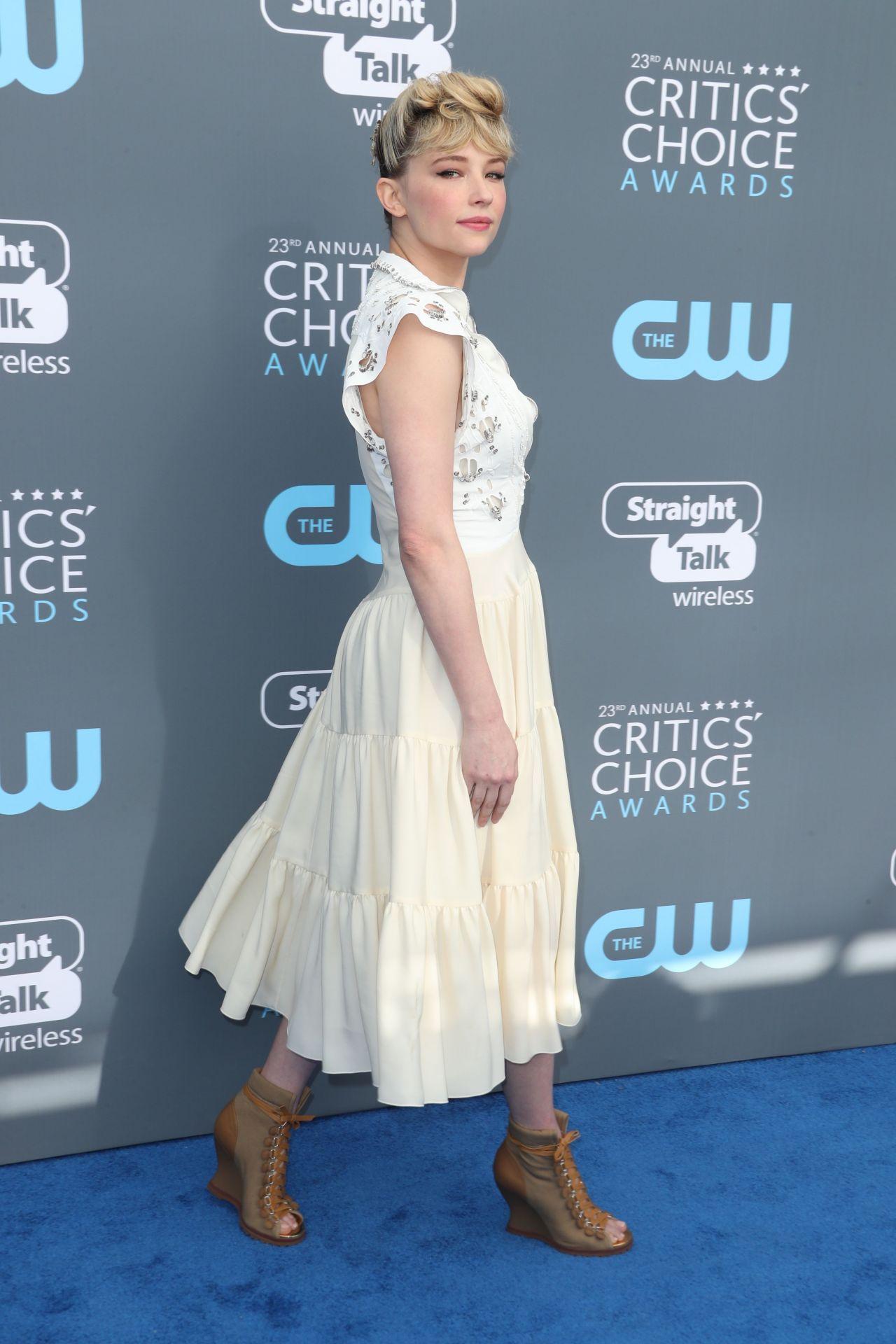 Haley Bennett 2018 Critics Choice Awards