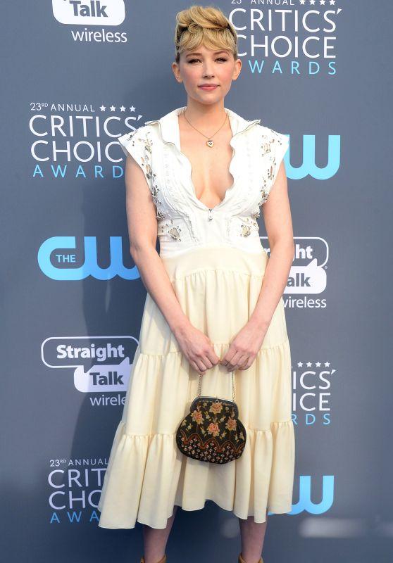 Haley Bennett – 2018 Critics' Choice Awards
