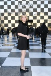 Haley Bennett at Christian Dior Show Spring Summer 2018 in Paris