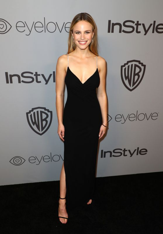 Halston Sage – InStyle and Warner Bros Golden Globes 2018 After Party