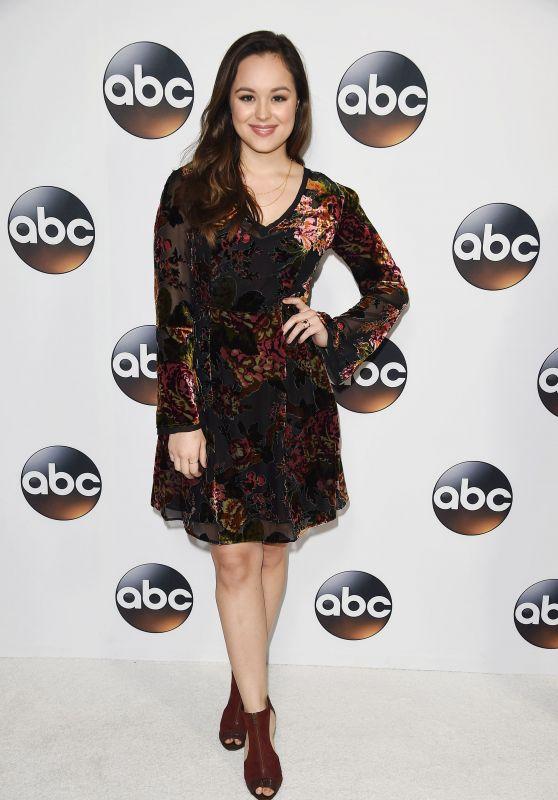 Hayley Orrantia – ABC All-Star Party in LA
