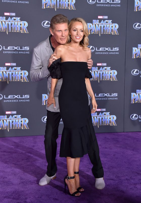 """Hayley Roberts – """"Black Panther"""" Premiere in Hollywood"""