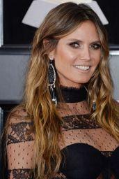 Heidi Klum – 2018 Grammy Awards in New York