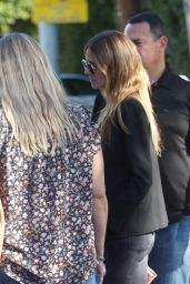 Heidi Klum Candids - Leaving From Lunch in Beverly Hills