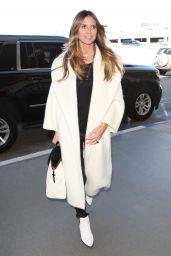 Heidi Klum - Departs from LAX Airport in LA 01/26/2018