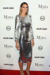 Heidi Klum – Marie Claire Image Makers Awards in Los Angeles