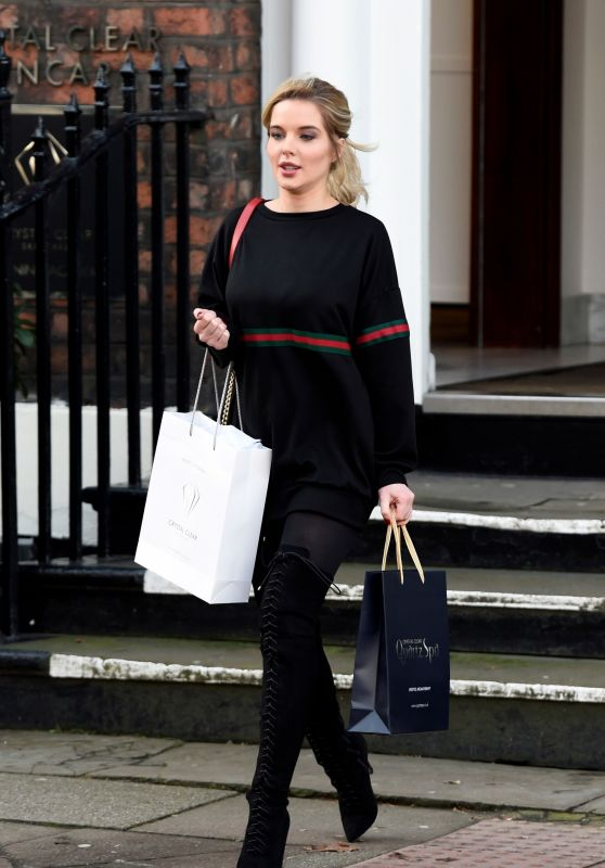 Helen Flanagan Casual Style - Crystal Clear in Liverpool 01/25/2018