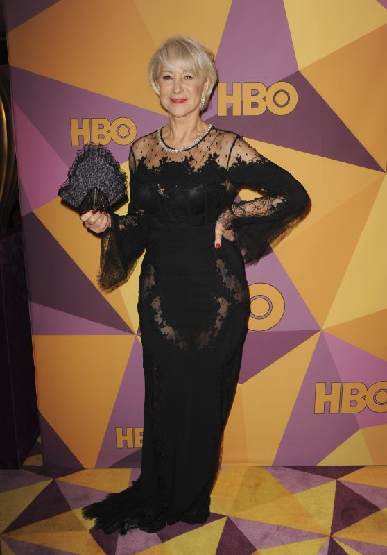 Helen Mirren – HBO's Official Golden Globe Awards 2018 After Party
