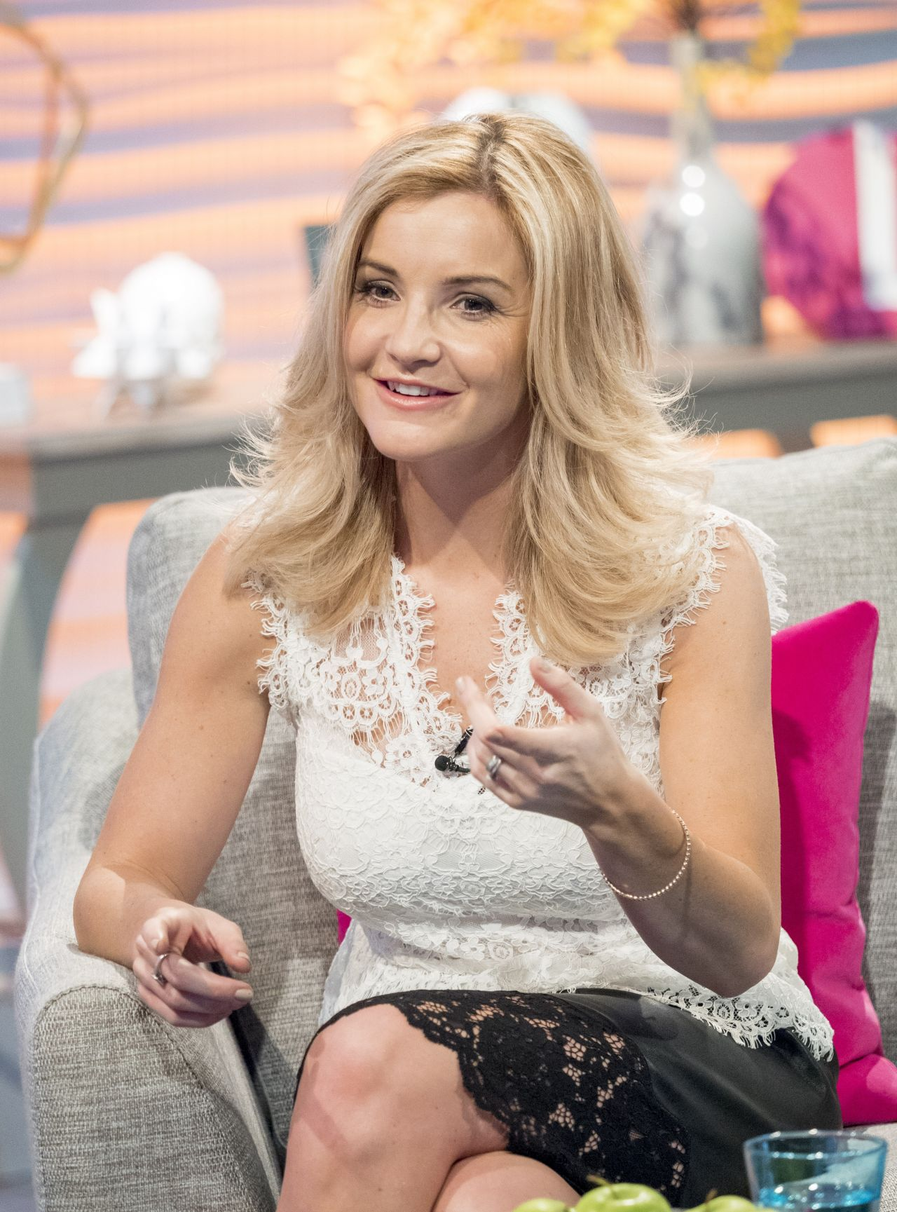 Helen Skelton – Lorraine TV Show in London