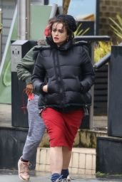 Helena Bonham Carter Out in Hampstead 01/20/2018